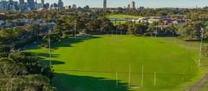 bat and ball oval moore park