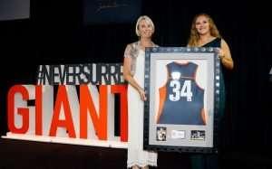 Tait Mackrill at GWS Giants awards